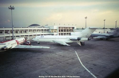 img86 Boeing 727-46 9Q-CRA New ACS © Michel Anciaux