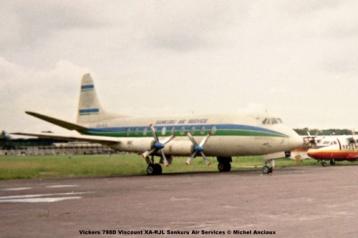 img878 Vickers 798D Viscount XA-RJL Sankuru Air Services © Michel Anciaux