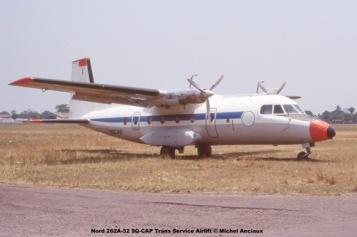 img899 Nord 262A-32 9Q-CAP Trans Service Airlift © Michel Anciaux