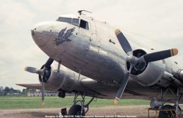 img98 Douglas C-47A 9Q-CYE TAZ-Transports Aeriens Zairois © Michel Anciaux
