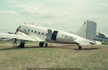 img99 Douglas C-47A 9Q-CYE TAZ-Transports Aeriens Zairois © Michel Anciaux