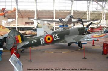 257Supermarine Spitfire Mk XIVe ''SG-55'' Belgian Air Force © Michel Anciaux