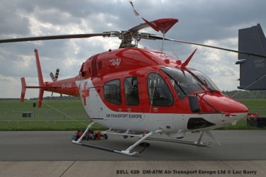 DSC04110 BELL 429 OM-ATM Air Transport Europe Ltd © Luc Barry