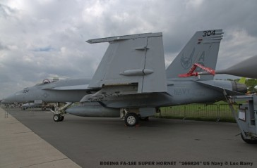 DSC04116 BOEING FA-18E SUPER HORNET ''166824'' US Navy © Luc Barry
