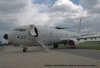 DSC04118 BOEING P-8A POSEIDON ''168433'' US Navy © Luc Barry