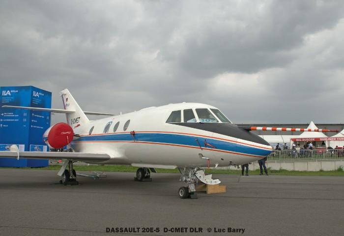 DSC04173 DASSAULT 20E-5 D-CMET DLR © Luc Barry