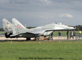 DSC04236 MIG 29 FULCRUM 42 POLISH AIR FORCE © Luc Barry