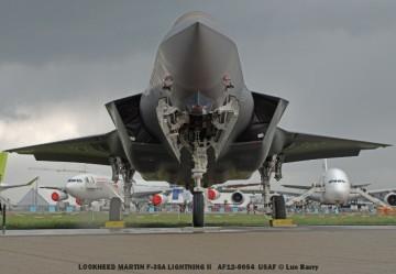 DSC04358 LOCKHEED MARTIN F-35A LIGHTNING II AF12-5054 USAF © Luc Barry