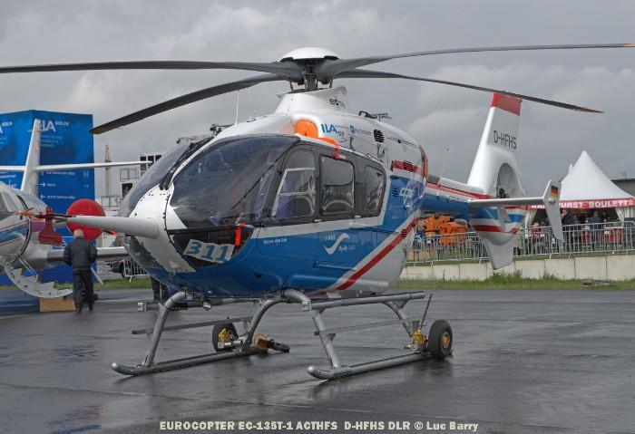 DSC04390 EUROCOPTER EC-135T-1 ACTHFS D-HFHS DLR © Luc Barry