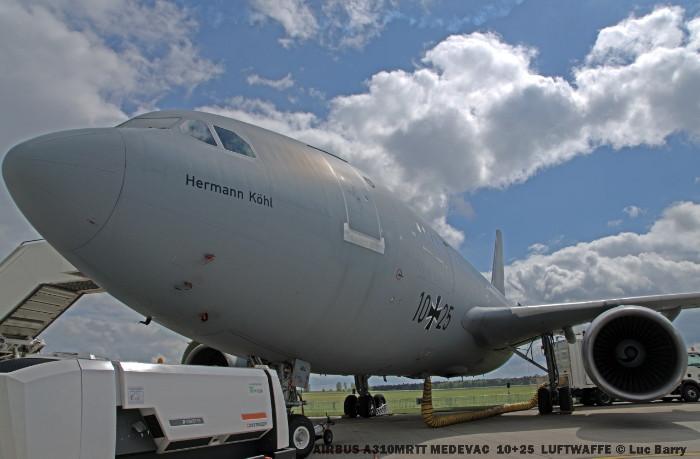 DSC04409 AIRBUS A310MRTT MEDEVAC 10+25 LUFTWAFFE © Luc Barry