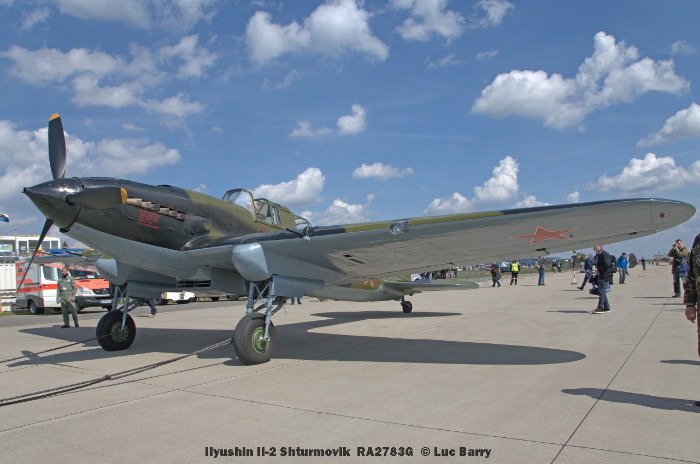 DSC04546 Ilyushin Il-2 Shturmovik RA2783G © Luc Barry