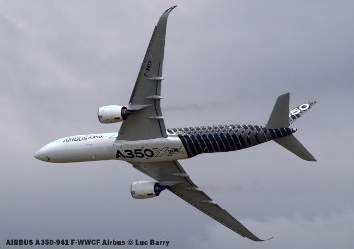 DSC07788 A350-941 F-WWCF Airbus © Luc Barry