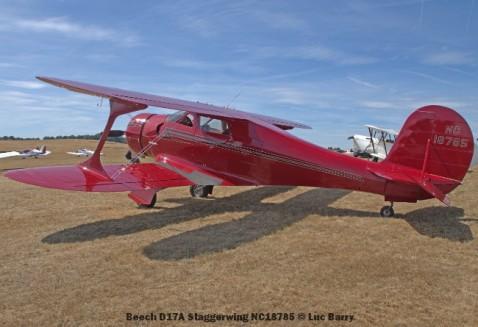 DSC08702 Beech D17A Staggerwing NC18785 © Luc Barry