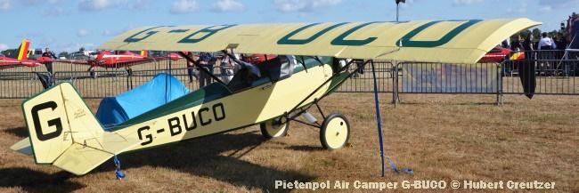 DSC_4467 Pietenpol Air Camper G-BUCO © Hubert Creutzer