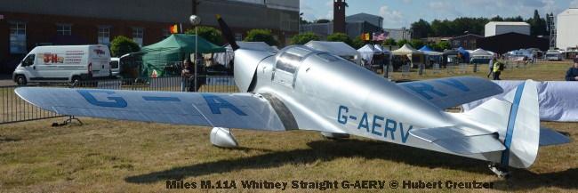 DSC_4473 Miles M.11A Whitney Straight G-AERV © Hubert Creutzer