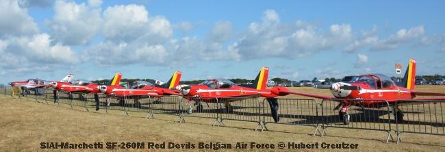 DSC_4490 SIAI-Marchetti SF-260M Red Devils Belgian Air Force © Hubert Creutzer