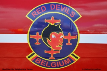 DSC_4493 Red Devils Belgian Air Force © Hubert Creutzer