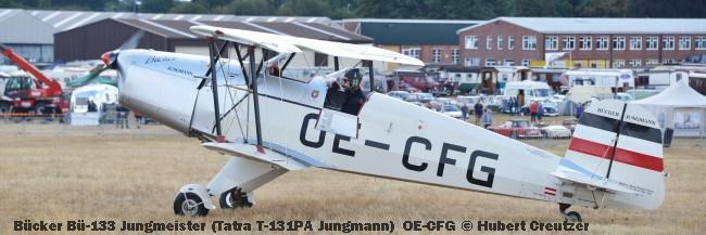 DSC_4551 Bücker Bü-133 Jungmeister (Tatra T-131PA Jungmann) OE-CFG © Hubert Creutzer