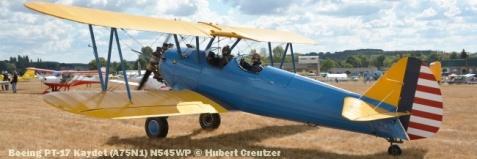 DSC_4563 Boeing PT-17 Kaydet (A75N1) N545WP © Hubert Creutzer