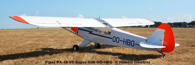 DSC_4568 Piper PA-18-95 Super Cub OO-HBG © Hubert Creutzer