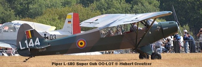 DSC_4569 Piper L-18C Super Cub OO-LOT © Hubert Creutzer