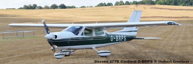 DSC_4587 Cessna 177B Cardinal G-BRPS © Hubert Creutzer
