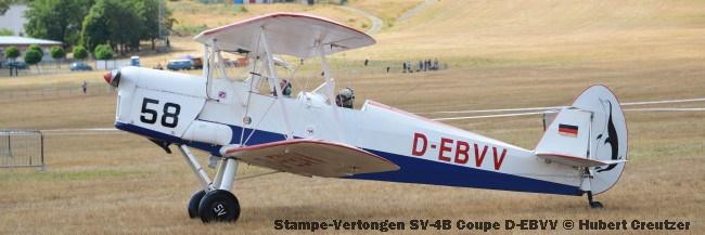DSC_4601 Stampe-Vertongen SV-4B Coupe D-EBVV © Hubert Creutzer