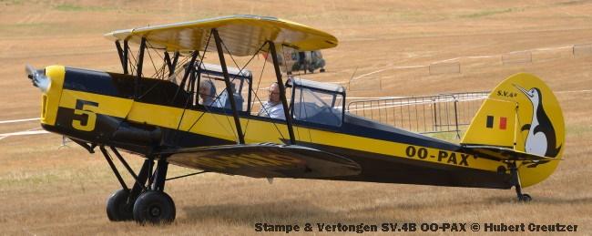 DSC_4603 Stampe & Vertongen SV.4B OO-PAX © Hubert Creutzer