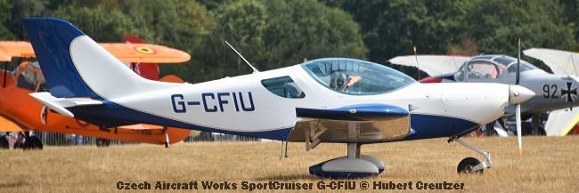 DSC_4609 Czech Aircraft Works SportCruiser G-CFIU © Hubert Creutzer