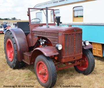 DSC_4645 Hanomag R 40 old tractor © Hubert Creutzer