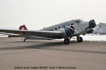 img148 Junkers Ju-52 3mg4e HB-HOT Ju-Air © Michel Anciaux
