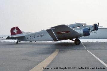 img149 Junkers Ju-52 3mg4e HB-HOT Ju-Air © Michel Anciaux