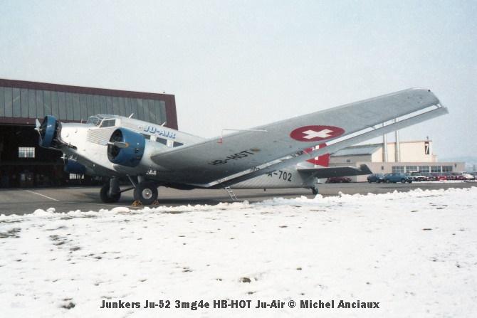 img150 Junkers Ju-52 3mg4e HB-HOT Ju-Air © Michel Anciaux