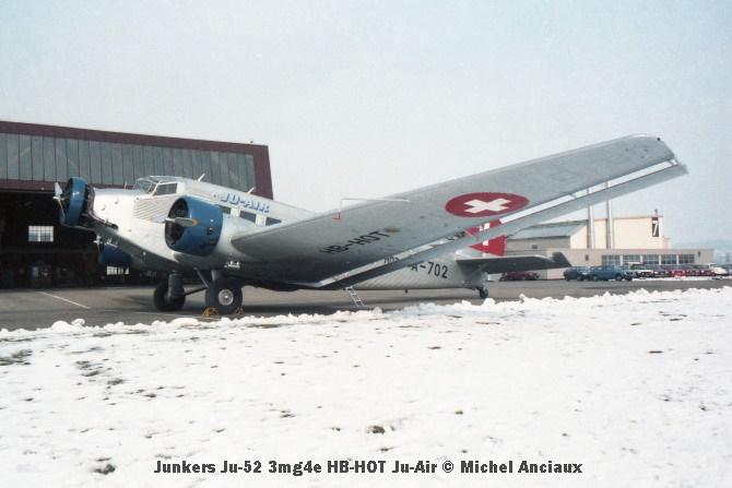 img150 Junkers Ju-52 3mg4e HB-HOT Ju-Air © Michel Anciaux