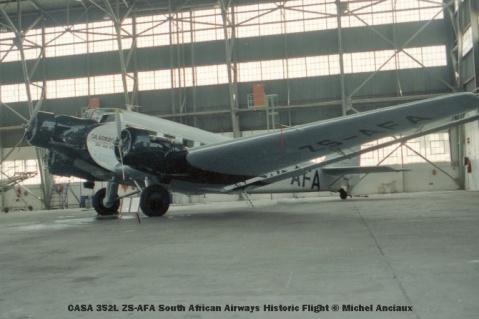 img830 CASA 352L ZS-AFA South African Airways Historic Flight © Michel Anciaux