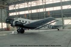 img831 CASA 352L ZS-AFA South African Airways Historic Flight © Michel Anciaux