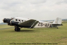 img832 CASA 352L ZS-AFA South African Airways Historic Flight © Michel Anciaux