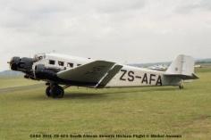 img832 CASA 352L ZS-AFA South African Airways Historic Flight © Michel Anciaux