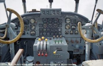 img834 CASA 352L ZS-AFA South African Airways Historic Flight © Michel Anciaux
