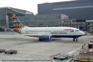 001 Boeing 737-36N G-XBHX Grand Union (England) British Airways © Michel Anciaux