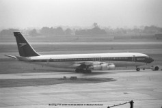 003 Boeing 707-336C G-AXGX BOAC © Michel Anciaux