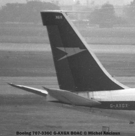 003 Boeing 707-336C G-AXGX BOAC