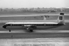 004 Vickers 951 Vanguard G-APEA BEA - British European Airways © Michel Anciaux