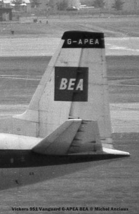 004 Vickers 951 Vanguard G-APEA BEA © Michel Anciaux