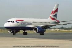 006 Airbus A319-131 G-EUPL Chatham Dockyard Union Flag British Airways © Michel Anciaux