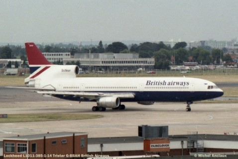 006 Lockheed L1011-385-1-14 Tristar G-BBAH British Airways © Michel Anciaux