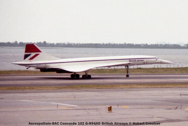 010 Aerospatiale-BAC Concorde 102 G-N94AD British Airways © Hubert Creutzer