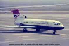 013 Hawker Siddeley HS121 2E Trident Two G-AVFL British Airways © Michel Anciaux