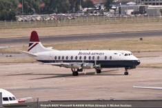 015 Vickers 802C Viscount G-AOHM British Airways © Michel Anciaux