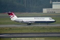 017 BAC 111-408EF G-BBMG British Airways © Michel Anciaux